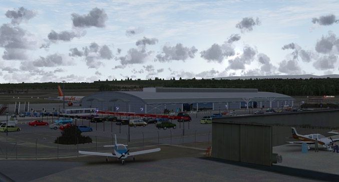 Inverness Airport Sceenshot